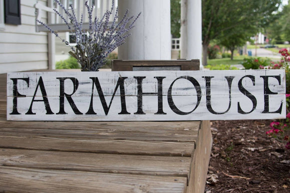 Farmhouse pallet sign  I  farmhouse  I  wood signs  I  farmhouse sign
