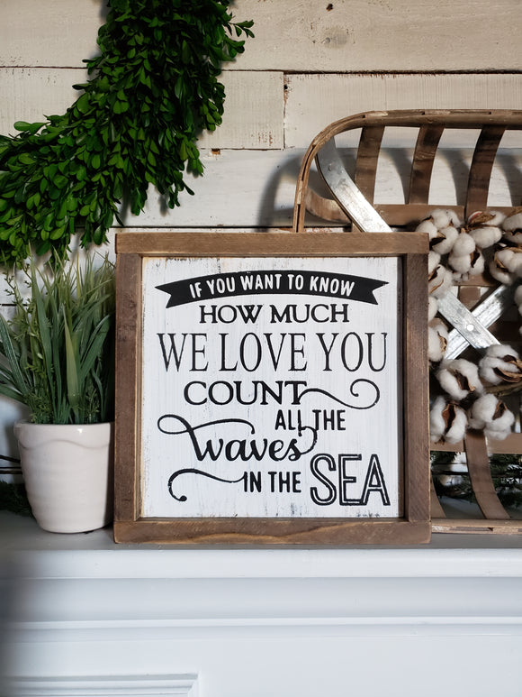 FREE U.S. SHIPPING!!!   Waves in the sea  I  nautical nursery  I  nursery room decor