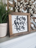 FREE U.S. SHIPPING!!!   Home sweet home sign   I  housewarming gift  I  door sign