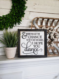 FREE U.S. SHIPPING!!!   Dance wood sign  I  Nursery room sign  I  Wedding sign