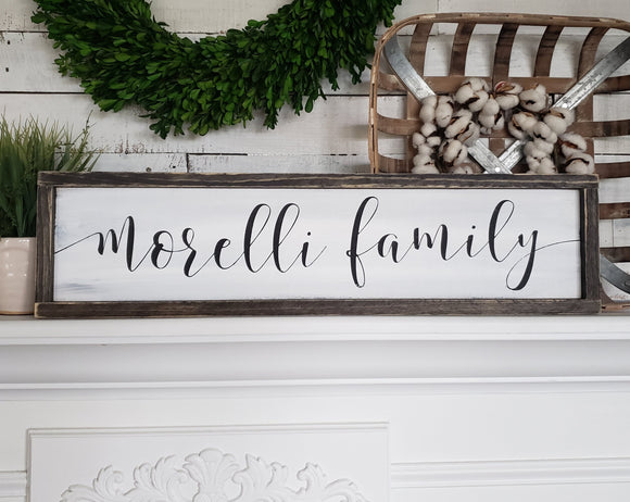 FREE SHIPPING!!!    Last name wood sign  I  wedding gift  I  housewarming  I  Established sign