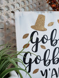 FREE U.S. SHIPPING!!!  Gobble Gobble y'all wood sign  I  Gobble Gobble