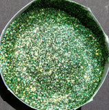 FREE U.S. SHIPPING!!!  NO MESS Ember Green Extra Fine Glitter Paint