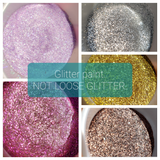 FREE U.S. SHIPPING!!!  NO MESS Peacock Extra Fine Glitter Paint