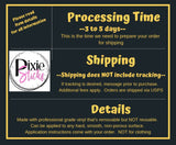 FREE U.S. SHIPPING!!!  Choose Happy vinyl stencil