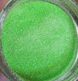 FREE U.S. SHIPPING!!!  Lime green Extra Fine loose glitter.