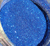 FREE U.S. SHIPPING!!!  Wildcat Blue Extra Fine loose glitter.