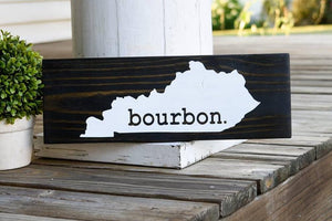 FREE SHIPPING!!!   Kentucky Bourbon wood sign  I  Kentucky  I  Kentucky sign  I  Kentucky decor