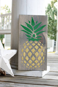 FREE SHIPPING!!!   Pineapple wood sign  I  Pineapple  I  Pineapple decor I  Pineapple sign  I Summer