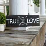 FREE SHIPPING!!!  True love wood sign  I  Valentine sign  I  wedding decor  I  weddings  I   wedding sign