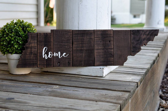 FREE SHIPPING!!!   Tennessee pallet cut out  I  Tennessee decor  I  Tennessee I Tennessee sign  I  Tennessee Wedding