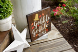 FREE SHIPPING!!!  Gobble Gobble y'all wood sign  I  Gobble Gobble  I  Turkey sign  I  Thanksgiving