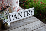FREE U.S. SHIPPING!!!   Pantry wood sign  I  Pantry  I  Kitchen sign  I  Kitchen