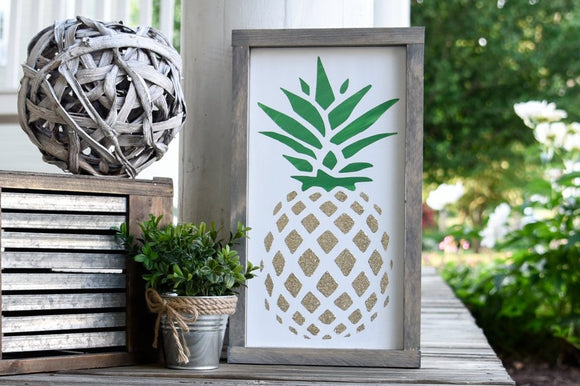FREE SHIPPING!!!   Pineapple wood sign  I  Pineapple  I  wood sign  I  Kitchen sign  I  kitchen decor  I  wall hangings  I  wood wall art  I  home and living