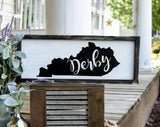 FREE U.S. SHIPPING!!!    Kentucky derby wood sign  I  Kentucky  I  Derby