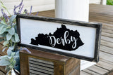 FREE SHIPPING! Kentucky derby wood sign  I  Kentucky  I  Derby  I  Derby sign  I  Derby decor  I  Kentucky derby  I  Horses  I  Wall hanging  I  Derby time