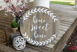 FREE U.S. SHIPPING!!!   Home sweet home wood sign  I  Home sign