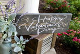 FREE U.S. SHIPPING!!!   Happy Valentines Day wood sign  I  Valentine sign  I  Valentine decor  I  Home and living  I  Home decor  I   Valentines Day decor  I  signs