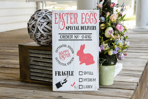 FREE U.S. SHIPPING!!!  Easter wood sign  I  Easter sign