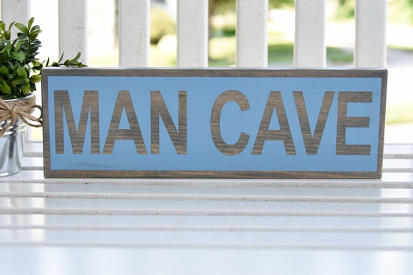 FREE SHIPPING!!!   Man cave wood sign  I  Man cave sign  I  Man cave decor  I  Man cave  I  gifts for him  I  home and living  I  wall hangings  I  wall art