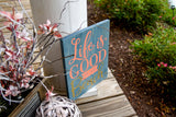 FREE U.S. SHIPPING!!!  Life is good at the beach wood sign  I  Beach