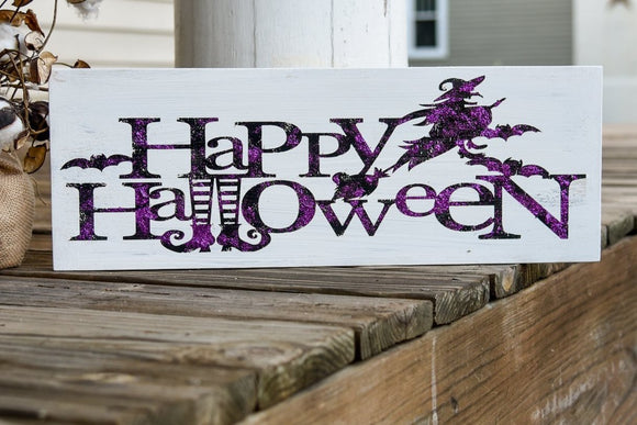 FREE SHIPPING!!!   Happy Halloween wood sign  I  Halloween  I  Halloween sign  I  Halloween Decor  I  October 31st  I  Fall sign  I  Fall decor  I  wood sign