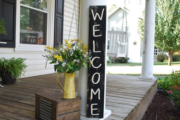 FREE SHIPPING!!!  Welcome pallet sign  I  Front porch decor  I  welcome  I  Porch sign  I  Wedding sign