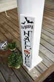 FREE U.S. SHIPPING!!!  Happy Halloween porch sign  I  Halloween