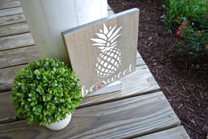 Be sweet wood sign  I  Pineapple  I  Pineapple sign  I  Pineapple decor