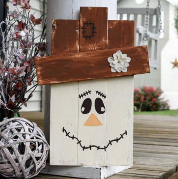 FREE SHIPPING!!!  Rustic wood Scarecrow I  Scarecrow I  rustic scarecrow I  fall I  fall sign I  fall decor I  fall porch sign I  scarecrow porch sign.