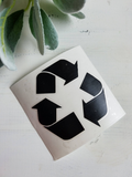 FREE U.S. SHIPPING!!!   Recycle Vinyl Decal
