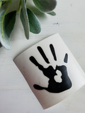 FREE U.S. SHIPPING!!!   Handprint decal