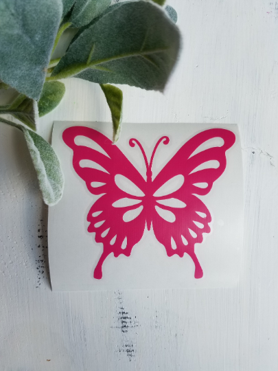 FREE U.S. SHIPPING!!!   Butterfly vinyl decal