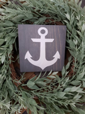 FREE U.S. SHIPPING!!!  Anchor wood sign  I  Anchor  I  Wood signs
