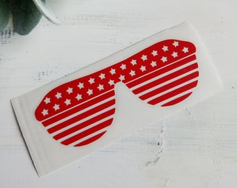 FREE U.S. SHIPPING!!!  Sunglasses Decal  I  Glasses