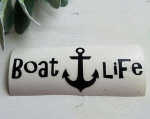 FREE U.S. SHIPPING!!!  Boat Life Decal  I  Boat Life  I decals