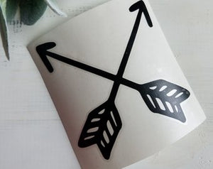 FREE U.S. SHIPPING!!!   Arrow Vinyl Decal  I  arrows