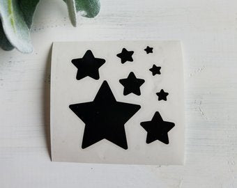 FREE SHIPPING!!!  Stars Decal  I  Planets and Stars  I  decals I  Space decal  I  vinyl decals  I  cup decal  I  car decal  I  yeti decal  I  Stars wall decal