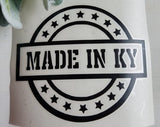 FREE U.S. SHIPPING!!!   Made in Kentucky Decal  I  Kentucky