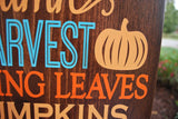 FREE U.S. SHIPPING!!!   Fall wood sign  I   Autumn home decor  I  scarecrows