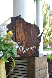 FREE U.S. SHIPPING!!!   Wisconsin pallet cut out  I  Wisconsin  I  Wisconsin decor
