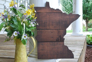 FREE U.S. SHIPPING!!!  Minnesota pallet cut out  I   Minnesota  I  Minnesota decor