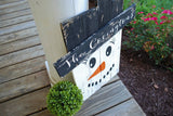 FREE SHIPPING!!!  Pallet snowman  I  Snowman decor  I  rustic snowman  I  Christmas  I  Winter sign