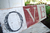 FREE SHIPPING!!!Love pallet sign  I   Love decor  I   weddings  I  wedding sign  I  Valentine sign