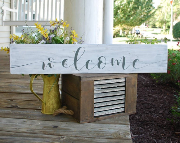 FREE U.S. SHIPPING!!!  Welcome wood sign  I   Welcome sign  I housewarming gift