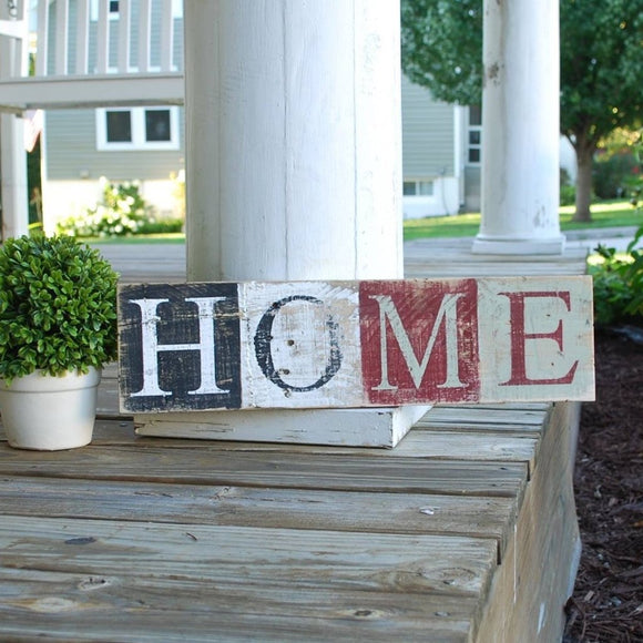 FREE SHIPPING!  Home wood sign  I  home sign  I  home sweet home  I  housewarming gift  I  wood sign
