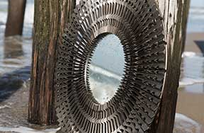 Collection - Pewter Framed Mirrors