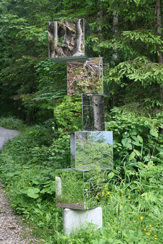 Contemporary art mirrors