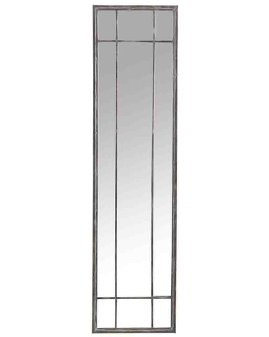 Atelier - Full Length Panelled Mirror (Metal Frame, H:157cm