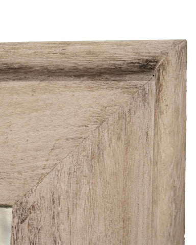 Classic Full Length Mirror (Rectangular Wood Frame), H:168cm-detail
